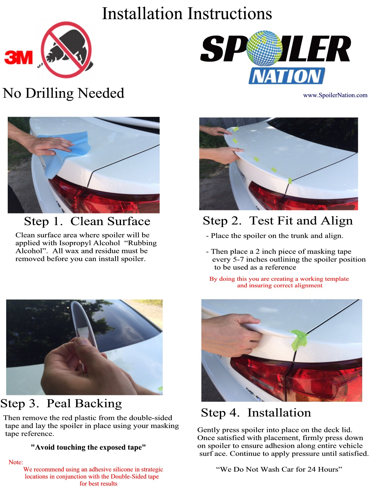 No-Drill-Lip-Spoiler-Installation