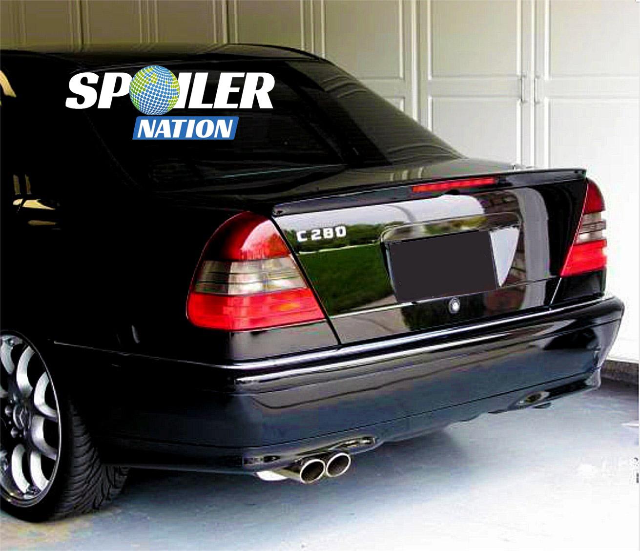 Mercedes Benz C300 Sport: 1994-2000 Mercedes C-Class Sport Style Rear Lip Spoiler