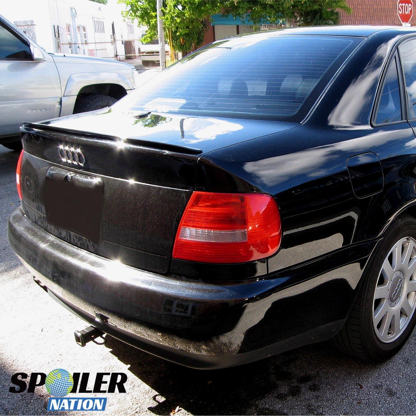 1995-2001 Audi A4 Sedan Euro Style Rear Trunk Lip Spoiler