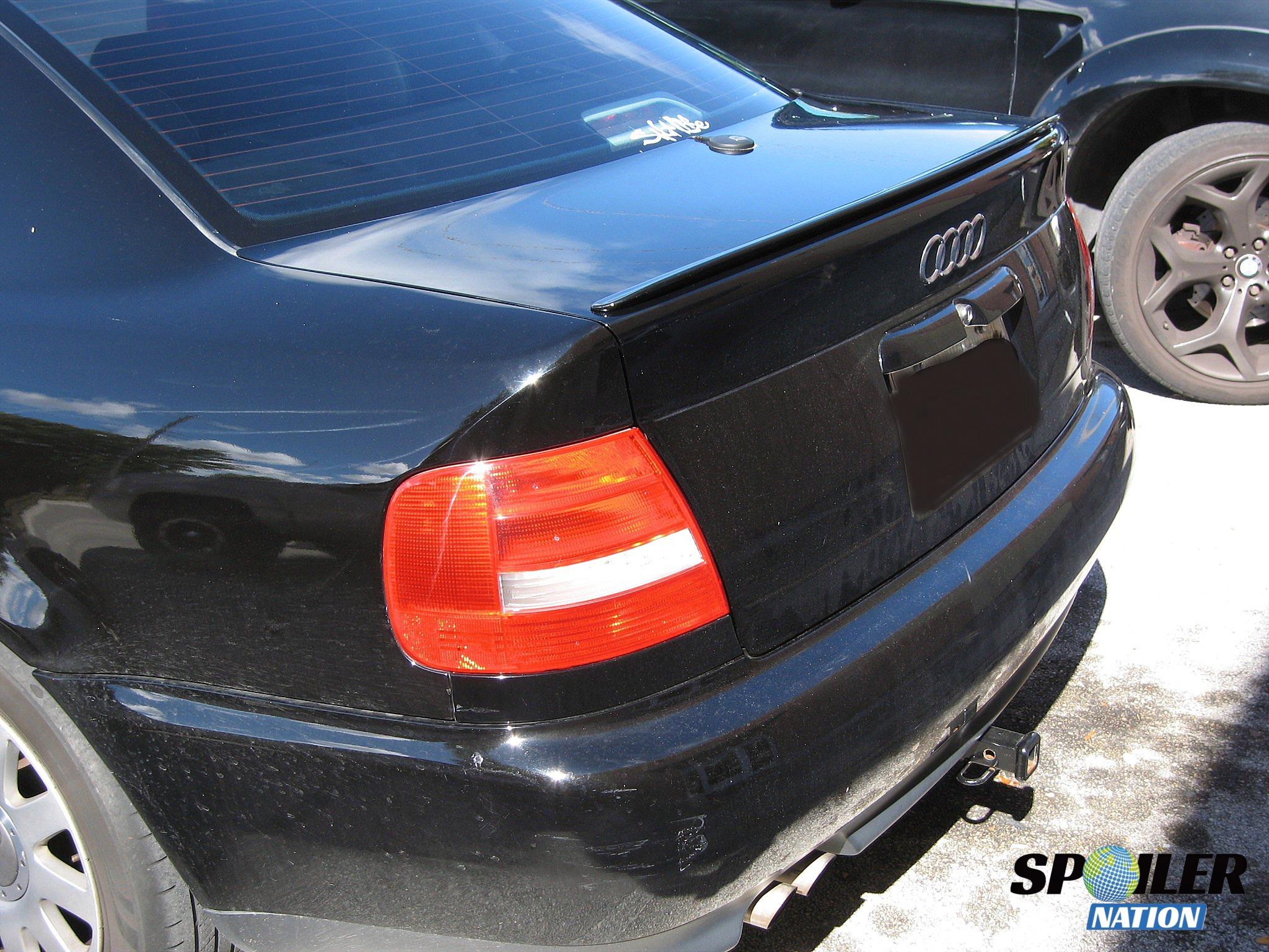 ... 1995 2001 audi a4 sedan euro style rear trunk lip spoiler ...
