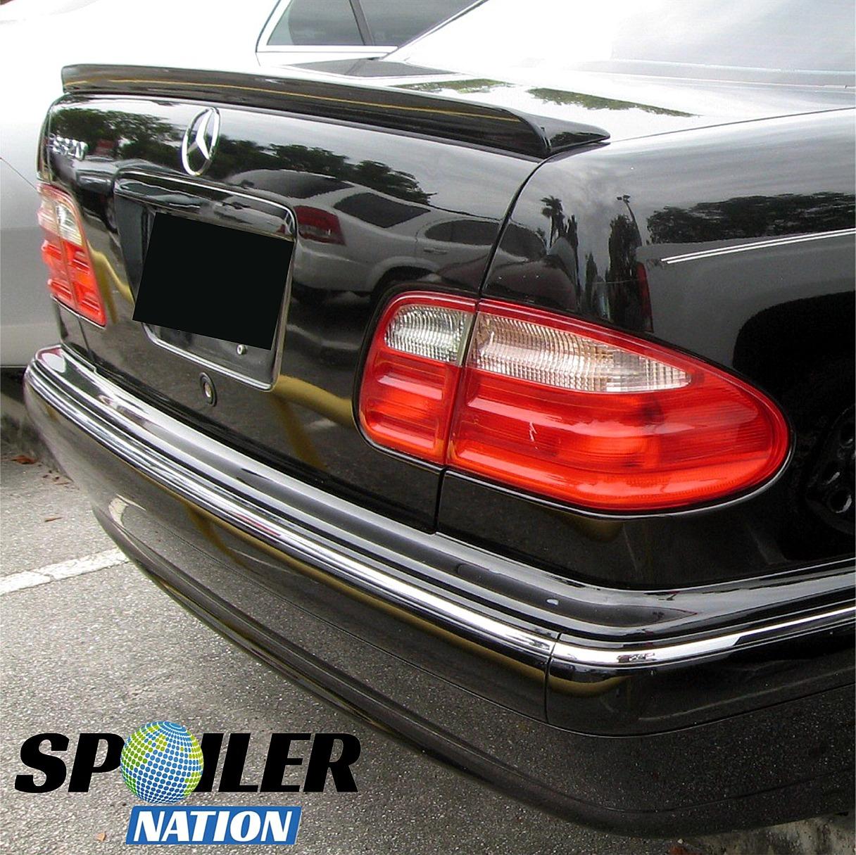 1995-2002 Mercedes Benz E-Class L-Style Rear Trunk Lip Spoiler