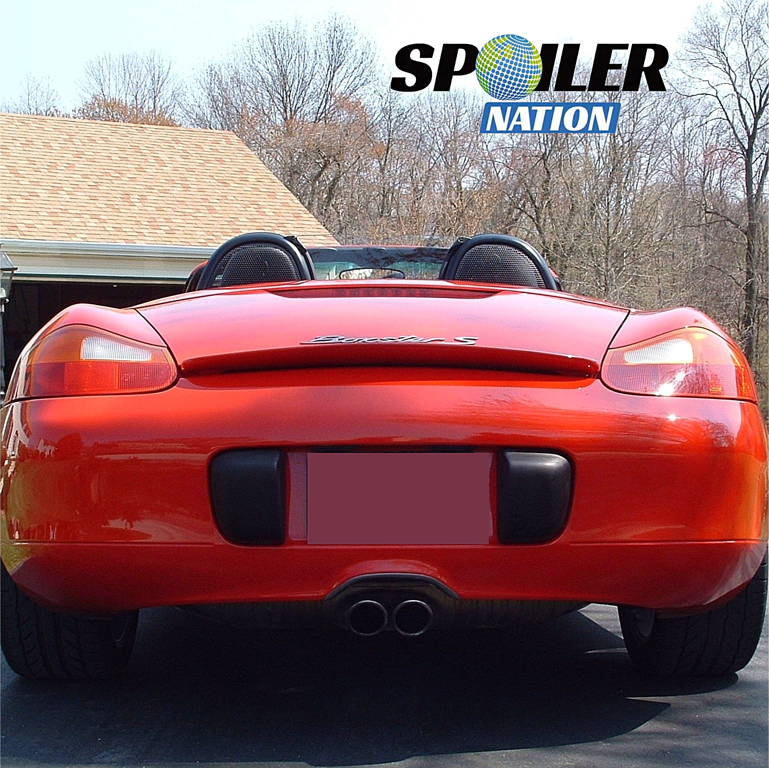 1997 2004 porsche boxster turbo style rear spoiler. Black Bedroom Furniture Sets. Home Design Ideas