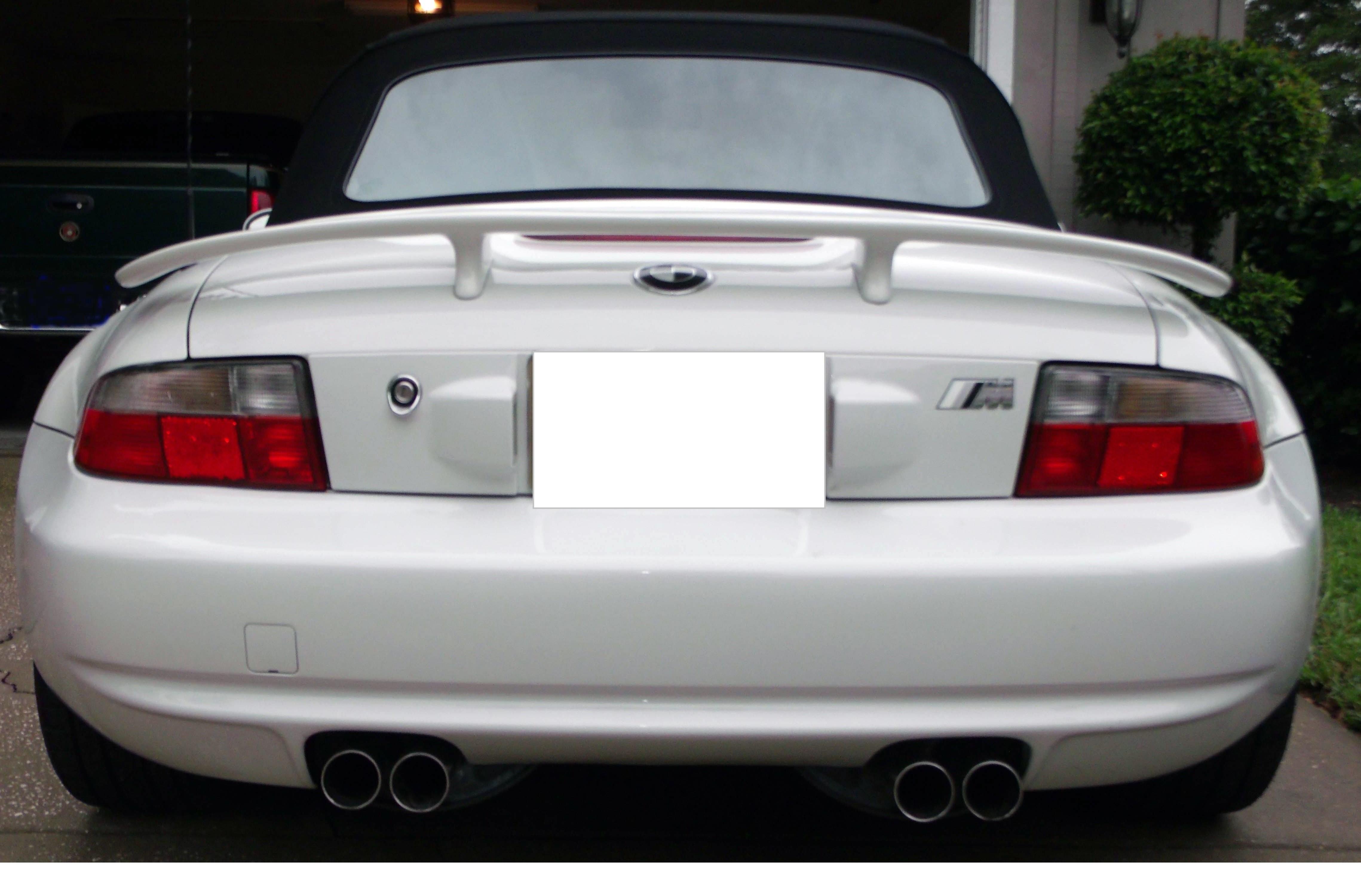 1999 2002 Bmw Z3 Tuner Style Rear Trunk Wing Spoiler