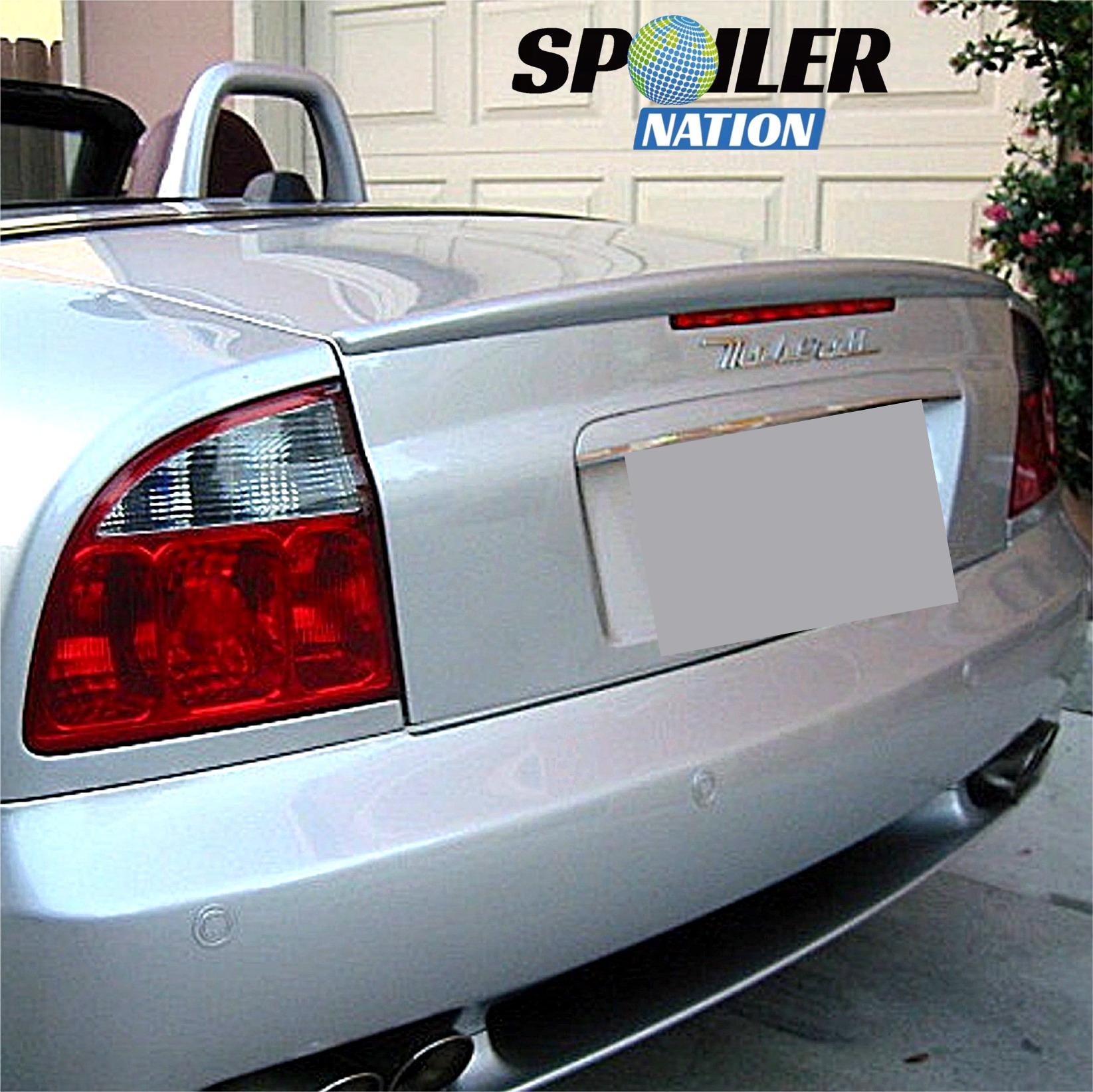 2002-2007 Maserati Gransport Spyder Sport-Line Rear Spoiler