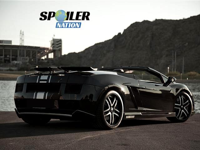 2003 2013 Lamborghini Gallardo H Style Rear Wing Spoiler