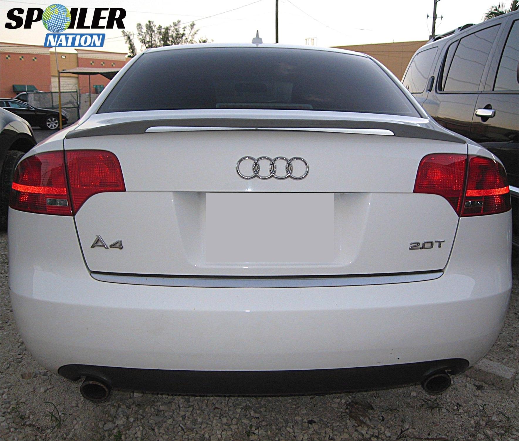 2005 1 2 2008 audi a4 sedan sport style rear wing spoiler rh spoilernation com Audi Rear Deck Lid Spoiler Audi A4 Tuning