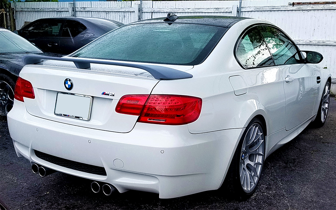 2007 2012 Bmw 3 Series Coupe Aero Rear Wing Spoiler