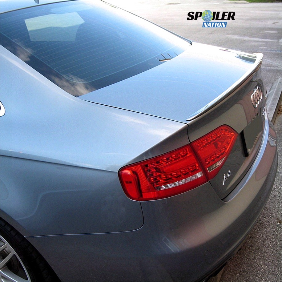 2009-2015 Audi A4 Sedan Euro Style Rear Trunk Lip Spoiler