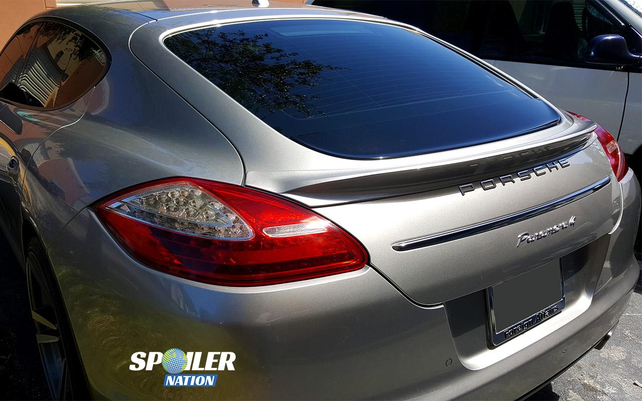 2010 2013 Porsche Panamera Gt Style Rear Lip Spoiler