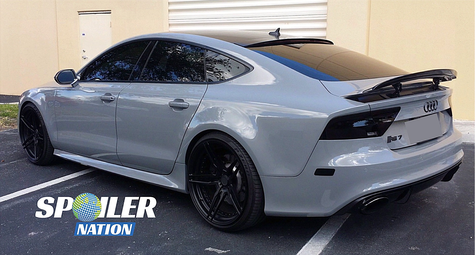 2010 2017 Audi A7 S7 Sedan Tuner Style Rear Trunk Lip Spoiler