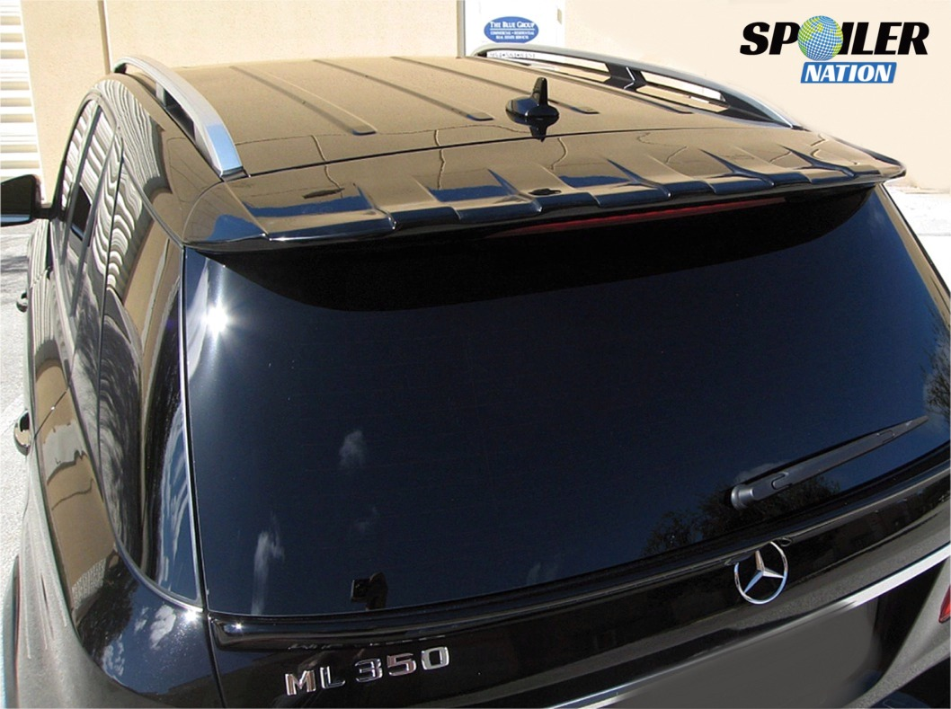 2011 2015 Mercedes Ml Tuner Style Rear Roof Line Spoiler