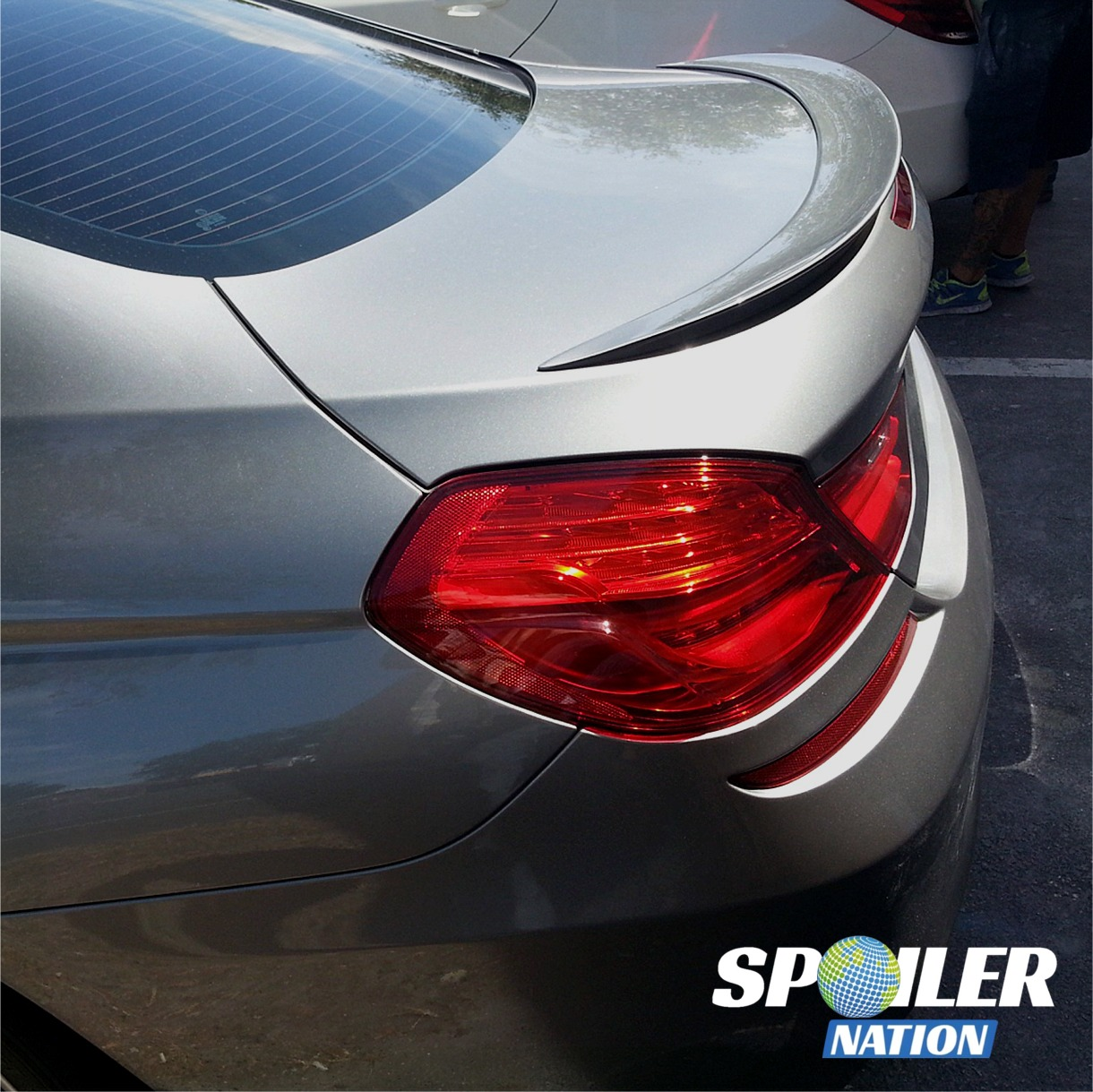 2011-2017 BMW 6 Series Coupe M6 Style Rear Lip Spoiler