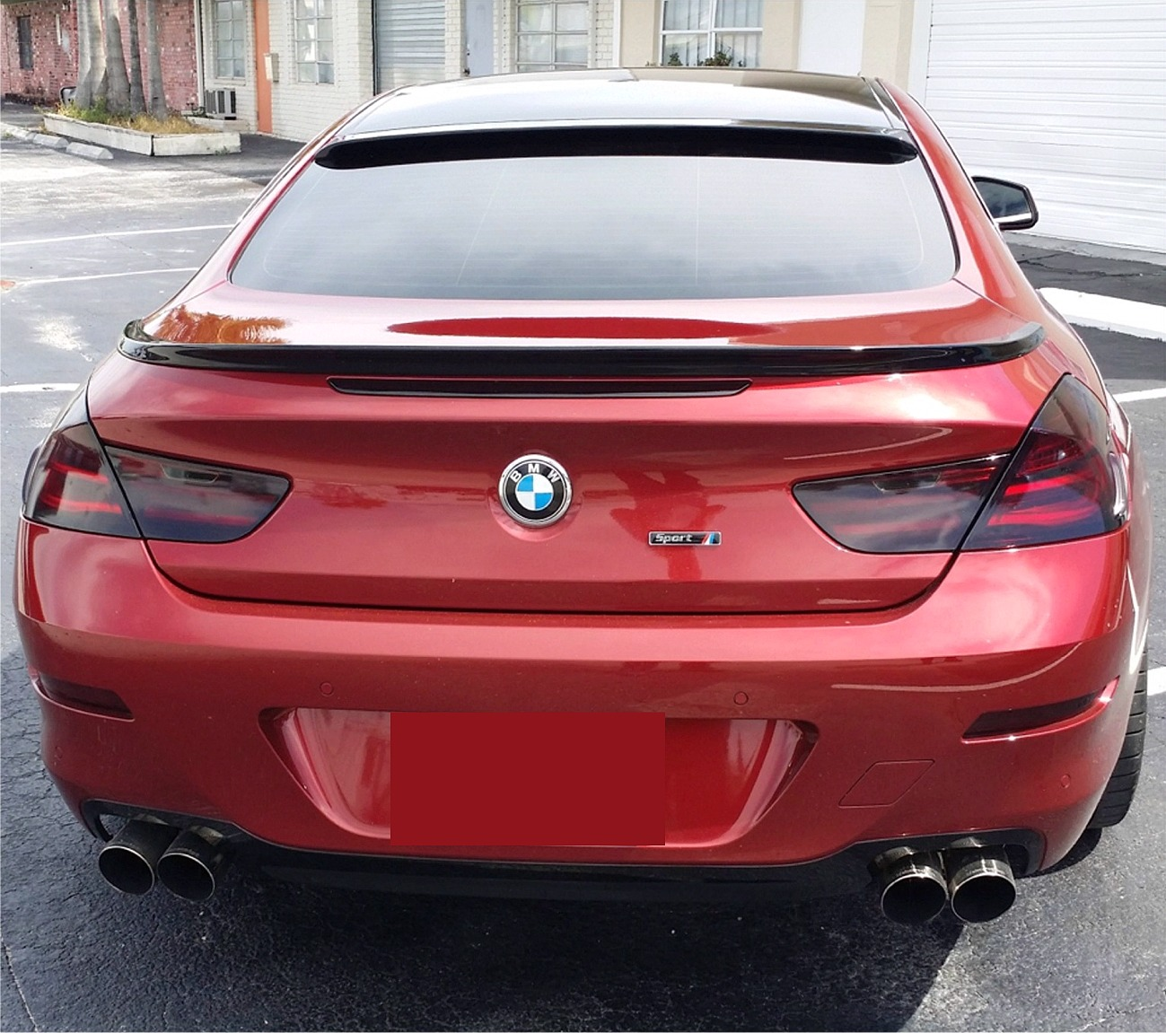 Bmw 6 Series: 2011-2017 BMW 6 Series Coupe Sport Rear Window Roof Line