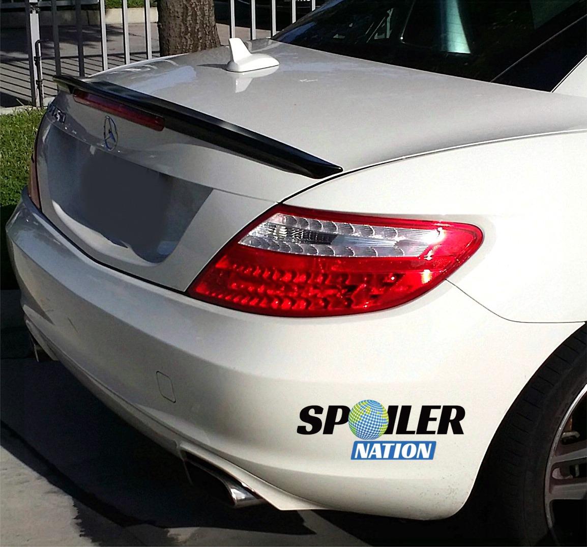 2012-2016 Mercedes Benz SLK Sport Style Rear Trunk Lip Spoiler