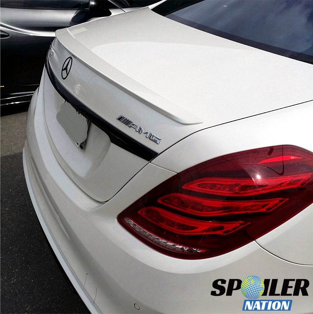 Pleasing 2014 2018 Mercedes S Class Sedan Factory Style Rear Spoiler Wiring Cloud Philuggs Outletorg