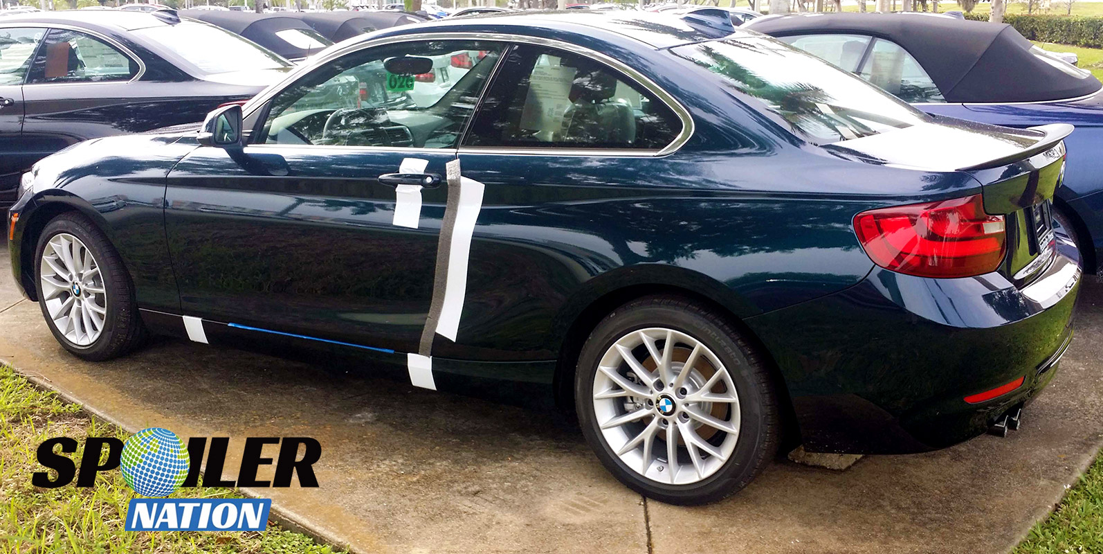 2014 2017 Bmw 2 Series Coupe Sport Style Rear Trunk Lip Spoiler