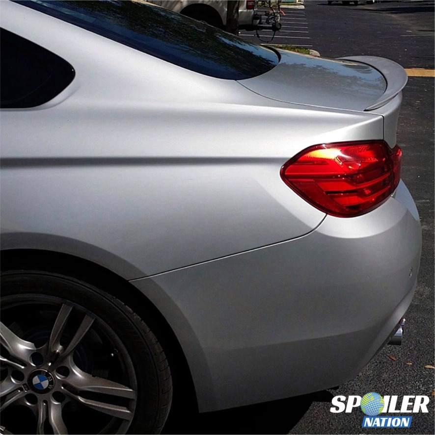 2019 Bmw 2 Series: 2014-2017 BMW 4 Series Coupe Sport Rear Trunk Lip Spoiler