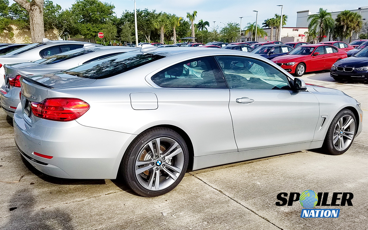 2014 2016 bmw 4 series coupe tuner rear trunk lip spoiler. Cars Review. Best American Auto & Cars Review