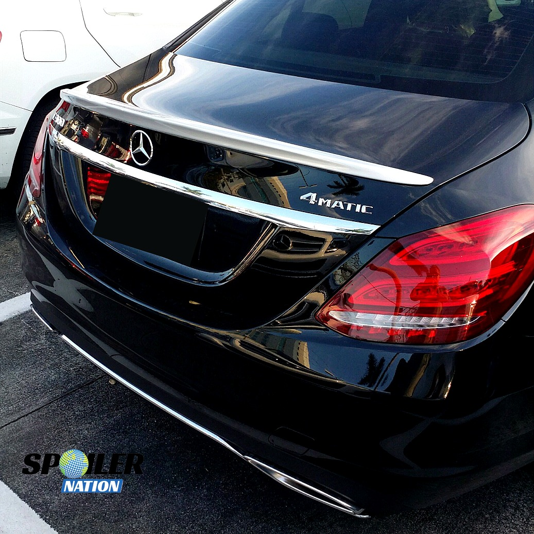 2015-2018 Mercedes C-Class Sedan Factory Style Rear Spoiler