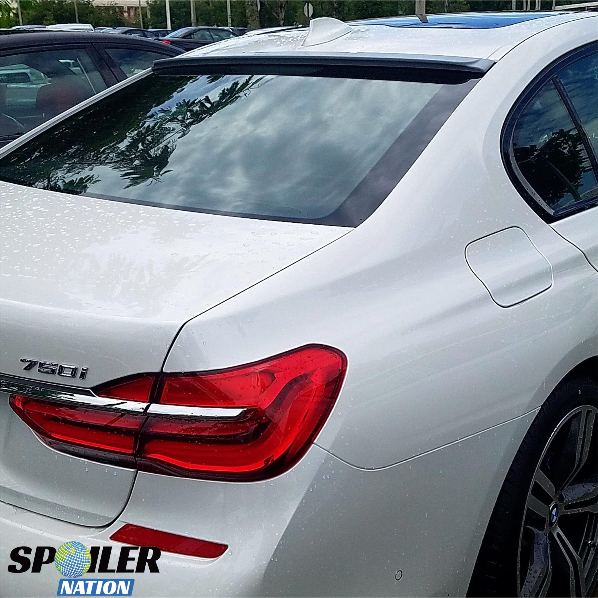 2016-2019 BMW 7 Series Sport Style Rear Window Spoiler