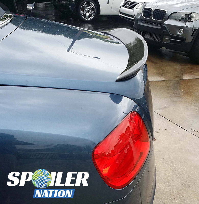 Bentley Convertible Price: 2012-2017 Bentley GTC Convertible Aero Rear Lip Spoiler